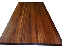 Walnut Tabletop by Armani Fine Woodworking