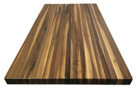 Edge Grain Walnut Island Top by Armani Fine Woodworking