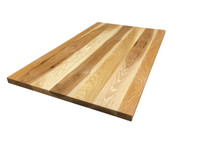 Wide Plank Hickory Countertop