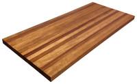 Edge Grain African Mahogany Countertop by Armani Fine Woodworking