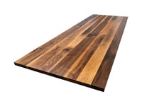 Custom Listing - Kelly Burbach - Rustic Walnut Wide Plank Breakfast Bartop (1)