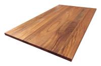 Custom Listing - Timothy Crawford - African Mahogany Wide Plank Desktop (Arced Desk)