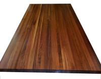 Custom Listing - Michael Asaro - Walnut Edge Grain Butcher Block Countertop with Sink