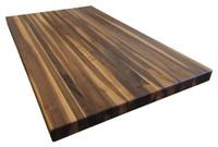 Custom Listing - Scott Ewing - Rustic Walnut Edge Grain Butcher Block Countertop (Sink Section)