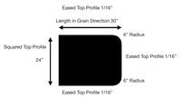 Custom Listing - Warren Gross - Maple RV Table