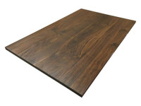 Custom Listing - Corey Schultz - Wide Plank Walnut Countertop with Special Shaping
