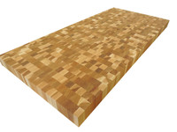 End Grain Hickory Butcher Block Countertop