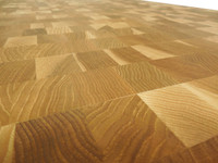 Calico Hickory End Grain Countertop