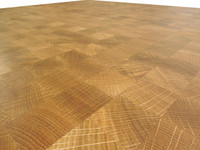 End Grain White Oak Butcher Block