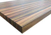 Brazilian Cherry Tabletop by Armani Fine Woodworking