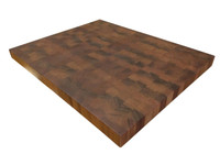 End Grain African Mahogany Butcher Block