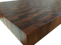 End Grain Brazilian Cherry (Jatoba) Butcher Block Countertop