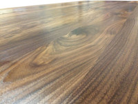 Wide Plank Walnut Countertop