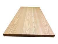 Wide Plank Red Oak Countertop