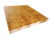 End Grain Hard Rock Maple Butcher Block Top