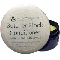 Butcher Block Conditioner | Cutting board Wax by Armani Fine Woodworking