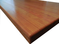 Edge Grain Cherry Island Top by Armani Fine Woodworking