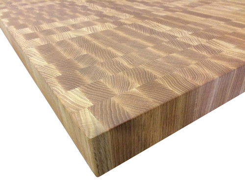 End Grain Red Oak