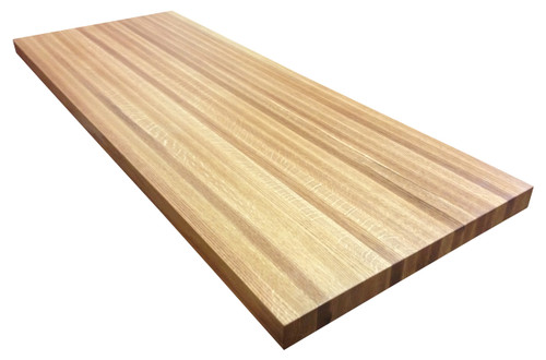 Red Oak Butcher Block Countertop by Armani Fine Woodworking