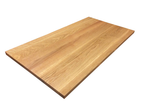Wide Plank White Oak Tabletop