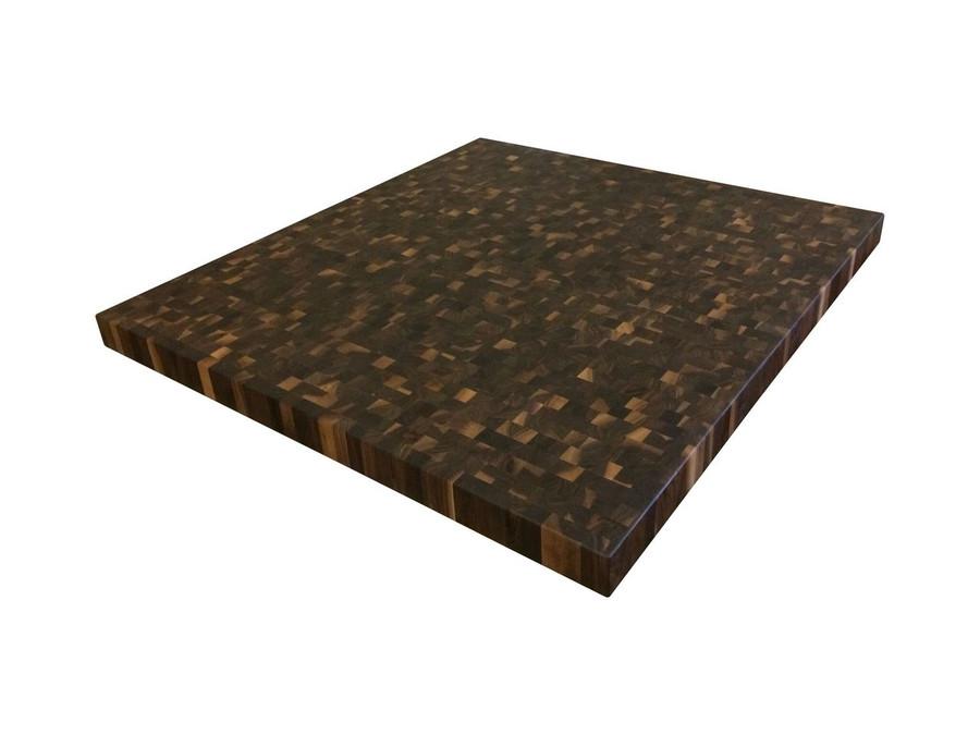 End Cut Rustic Walnut Countertop