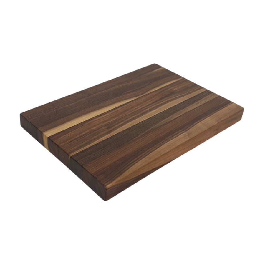 Rustic Walnut Butcher Block Cutting Board