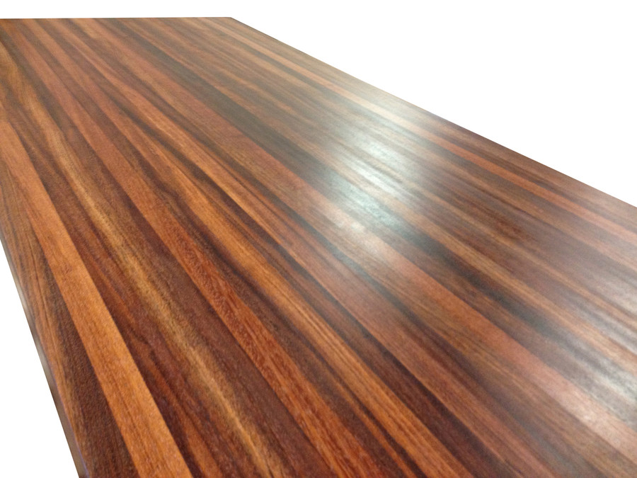 Edge Grain Brazilian Cherry Island Top by Armani Fine Woodworking
