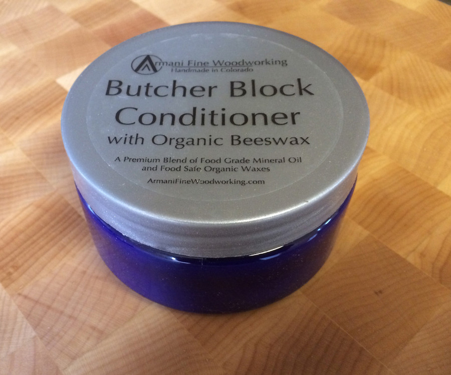 A premium blend of food grade mineral oil and organic, food safe waxes