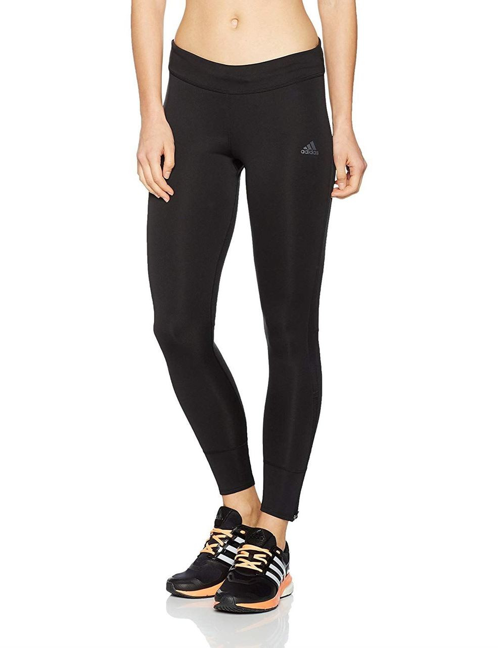 8cd91fc99f642 Adidas Women's Response Running Long W Tights Mid Rise Climalite ...