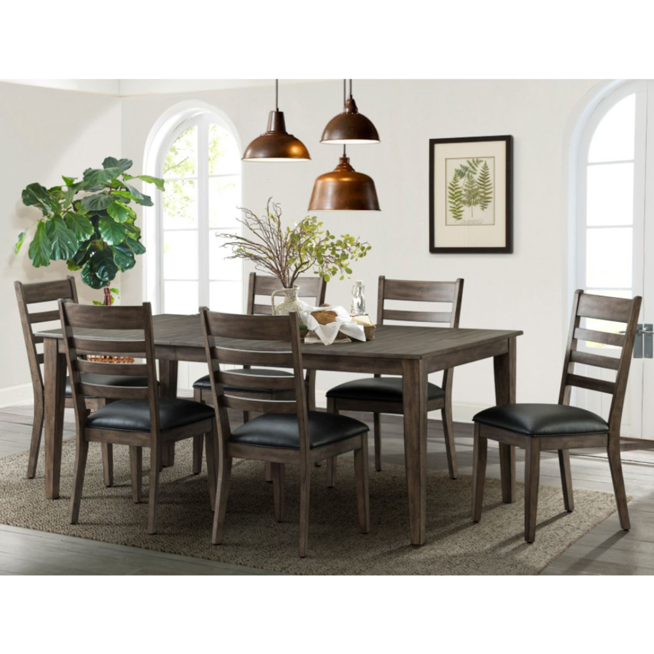 Imagio Home Solid Wood Extending Dining Room Table 6 Chairs Magar Solutions