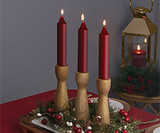 Holiday Pillar & Dinner Candles