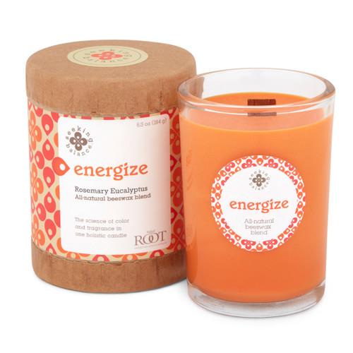 Seeking Balance® 6.5 oz Original Spa Candle Rosemary Eucalyptus Energize