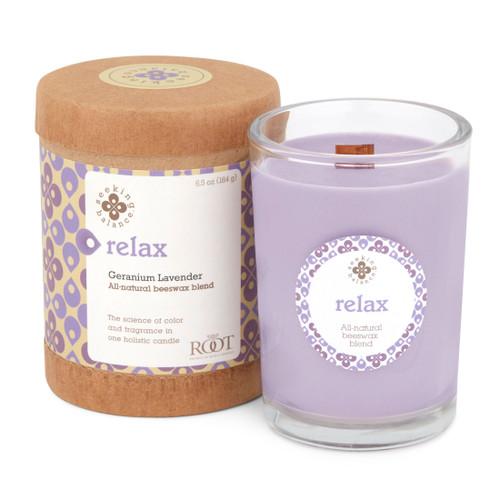 Seeking Balance® 6.5 oz Original Spa Candle Geranium Lavender Relax