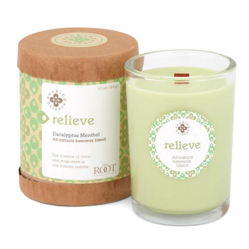 Seeking Balance® 6.5 oz Original Spa Candle Eucalyptus Menthol Relieve