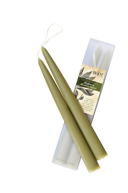 """9"""" Bayberry Scented Tapers 2 Pack"""