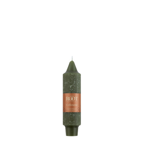 """5"""" Timberline™ Collenette Dark Olive Single Candle"""