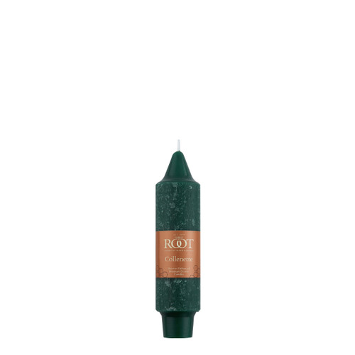 """5"""" Timberline™ Collenette Dark Green Single Candle"""