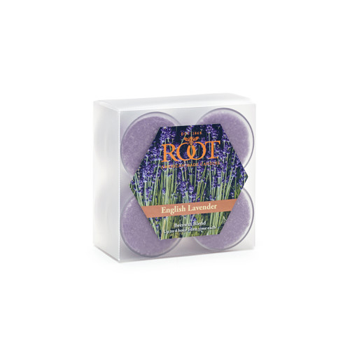 English Lavender - An earthy, true lavender essence of a newly blossomed lavender plant...clean, green, sharp blue lavender softened by chamomile, thyme and sheer musk