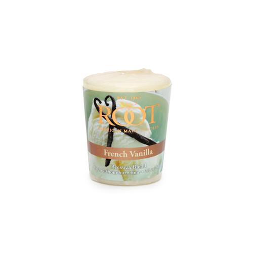 French Vanilla 20 Hour Beeswax Blend Votive