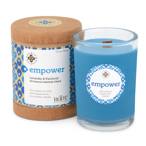 Seeking Balance® 6.5 oz Original Spa Candle Lavandin & Patchouli Empower