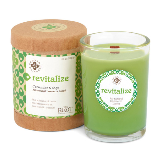 Seeking Balance® 6.5 oz Original Spa Candle Coriander Sage Revitalize