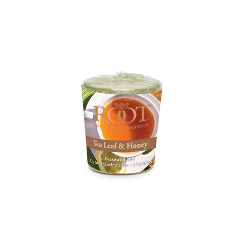 Tea Leaf & Honey 20 Hour Beeswax Blend Votive