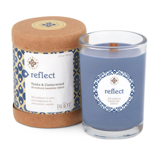 Seeking Balance® 6.5 oz Original Spa Candle Tonka and Cedarwood Reflect