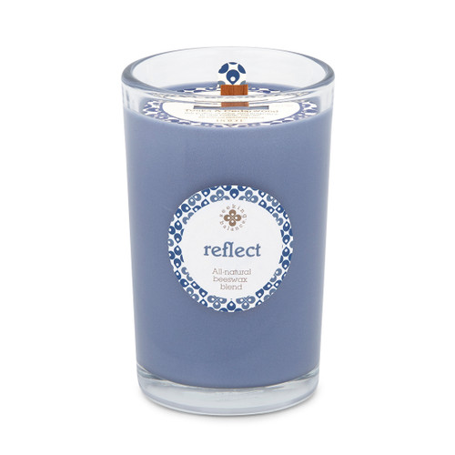 Seeking Balance® 8 oz Medium Spa Candle Tonka and Cedarwood Reflect