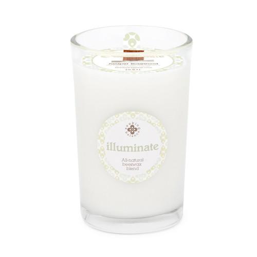 Seeking Balance® 8 oz Medium Spa Candle Juniper Rosewood Illuminate