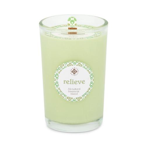 Seeking Balance® 8 oz Medium Spa Candle Eucalyptus Menthol Relieve
