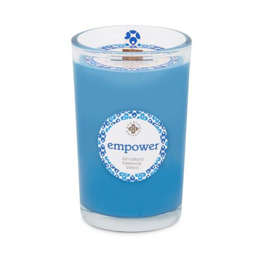 Seeking Balance® 8 oz Medium Spa Candle Lavandin & Patchouli Empower