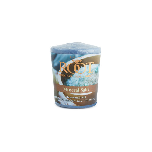 Mineral Salts 20 Hour Beeswax Blend Votive