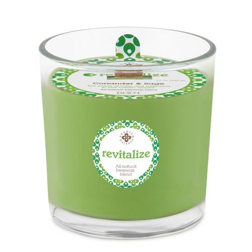 Seeking Balance® 12 oz Spa Candle Coriander Sage Revitalize