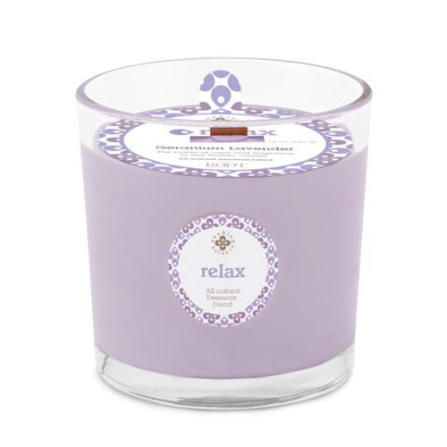 Seeking Balance® 12 oz Spa Candle Geranium Lavender Relax